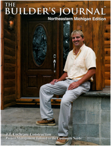 The Builders Journal - Northeastern Michigan  - November 2007 cover