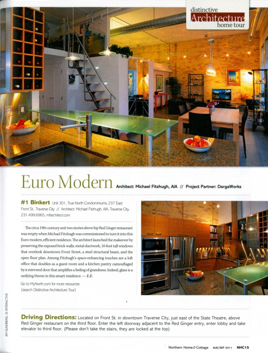 Traverse magazine northern home cottage for Home and cottage magazine