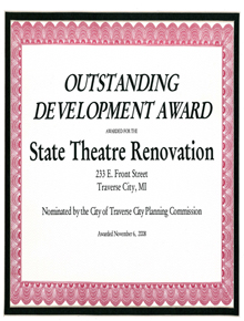 Outstanding Development Award